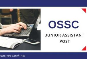 ossc junior engineer recruitment