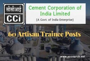 cci artisan trainee recruitment