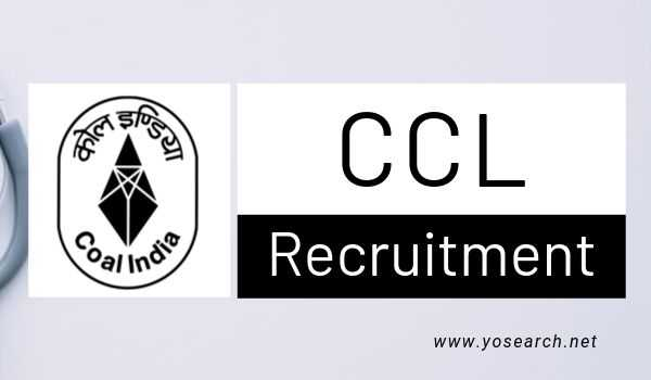 CCL Ranchi Recruitment
