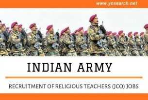 Indian Army JCO Recruitment 2021