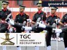 Indian Army TGC Technical Graduate Course