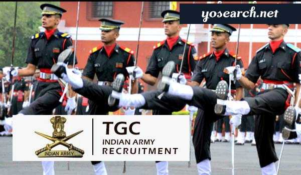 Indian Army TGC Technical Graduate Course