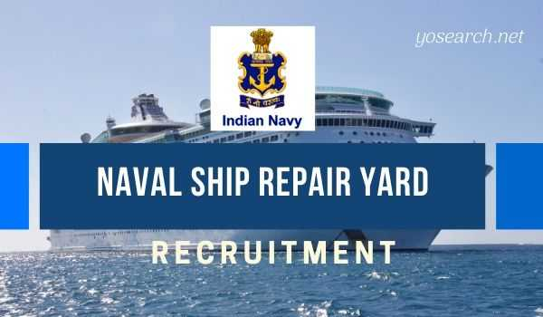 naval ship repair yard recruitment