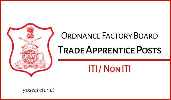 OFB Apprentice Recruitment