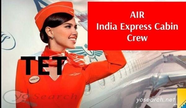 AIR India Express Cabin Crew Recruitment