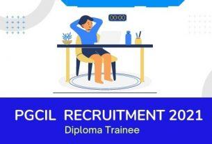 PGCIL Diploma Trainee Recruitment