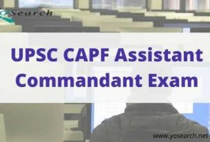 capf assistant commandant exam
