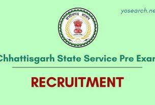 Chhattisgarh State Service Exam