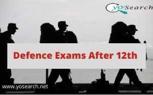 defence exams after 12th