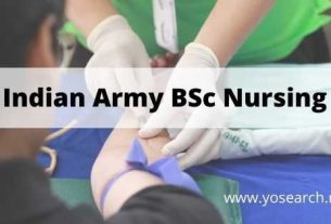 indian army bsc nursing