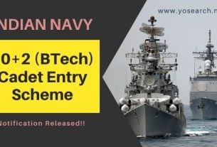 Indian Navy Cadet Entry Scheme