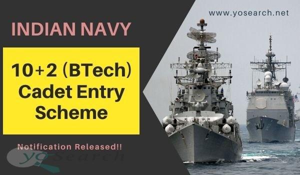 Indian Navy Cadet Entry Scheme