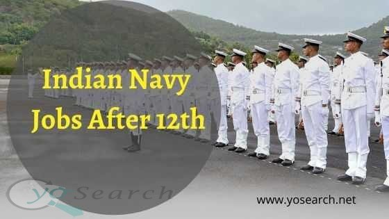 indian navy jobs after 12