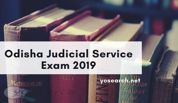 Odisha Judicial Service Exam