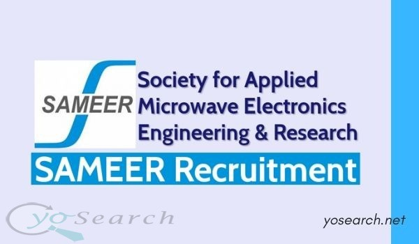 SAMEER Recruitment