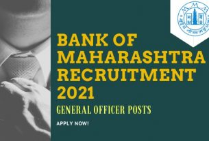 Bank of Maharashtra Generalist Officer Recruitment