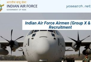 Indian Air Force Airmen Recruitment