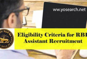 eligibility for rbi assistant