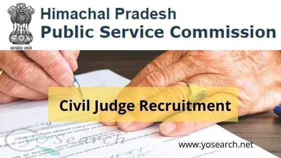 hppsc civil judge recruitment