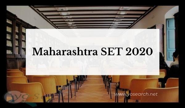 MH SET 2020 - Maharashtra SET Exam