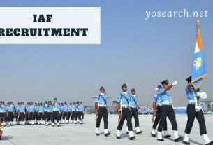 Indian Air Force Airman Group Y Recruitment