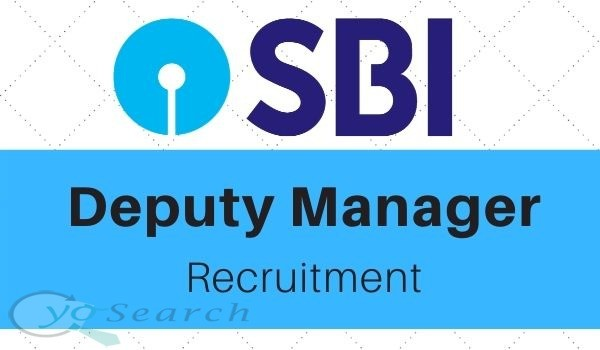 SBI Deputy Manager Recruitment