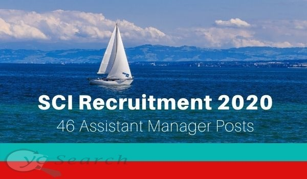 SCI Recruitment 2020