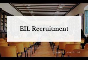 EIL Recruitment