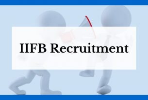 iifb recruitment