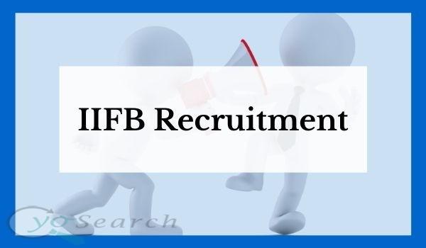 iifb recruitment