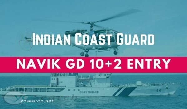 Indian Coast Guard Navik Recruitment 2020