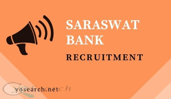 saraswat bank recruitment 2020