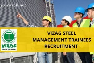 vizag steel management trainee recruitment
