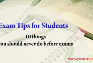 Exam Tips for Students