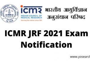 icmr jrf 2021