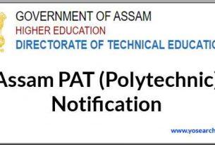 Assam PAT (Polytechnic)