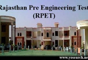 RPET - Rajasthan Pre-Engineering Test