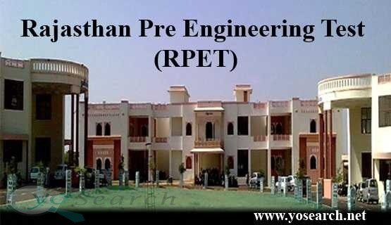 RPET - Rajasthan Pre-Engineering Test