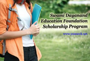 Swami Dayanand Scholarship