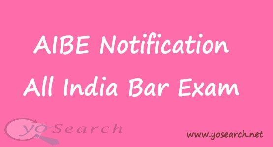 aibe notification