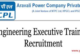 APCPL Recruitment