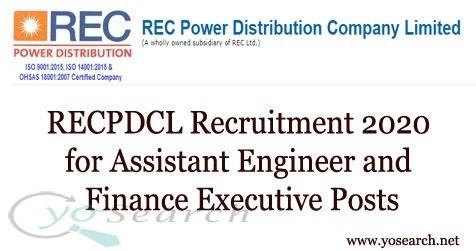 recpdcl recruitment 2020