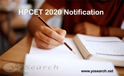 hpcet 2020 notification