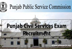 Punjab Civil Services Exam 2020