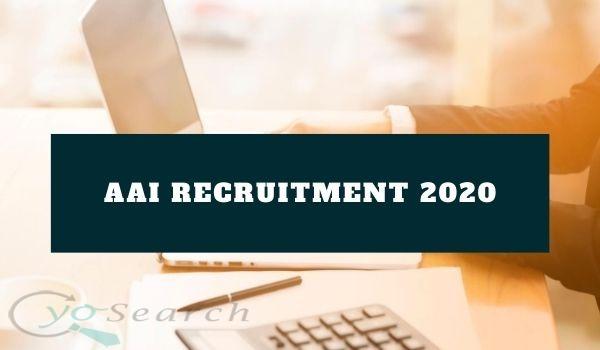 AAI Recruitment 2020