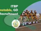 ITBP Recruitment 2020 for GD Constable