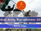 indian army dental corps recruitment 2020
