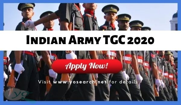 indian army tgc 2020 recruitment
