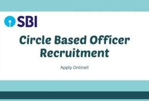 sbi circle based officer recruitment 2020