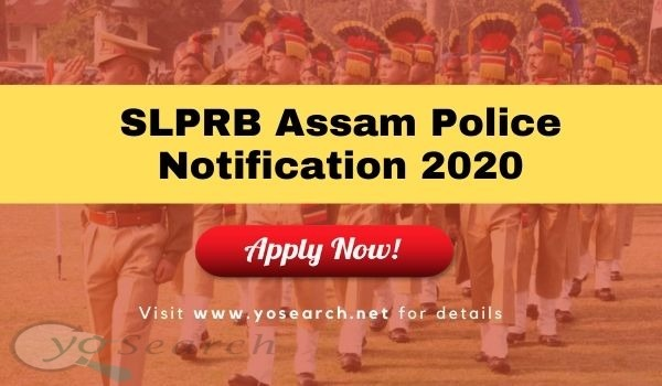 Assam Police Junior Assistant Recruitment 2020